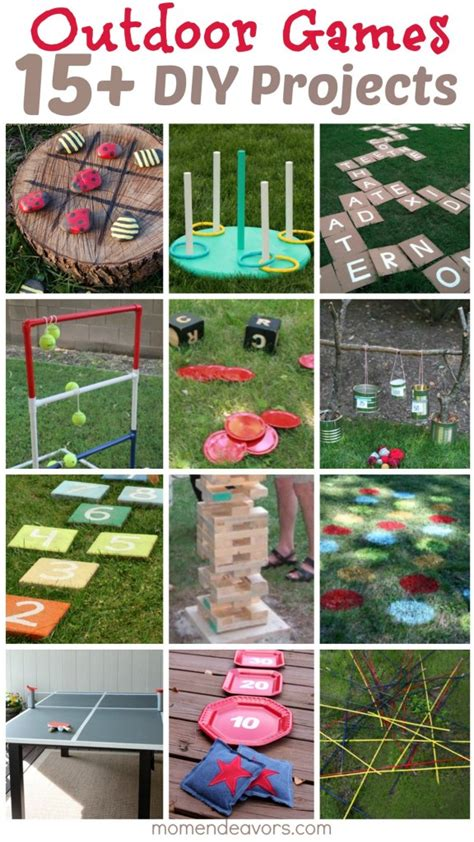 DIY Outdoor Games – 15+ Awesome Project Ideas for Backyard