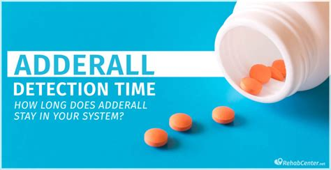How Long Does Adderall Stay In Your System? Adderall