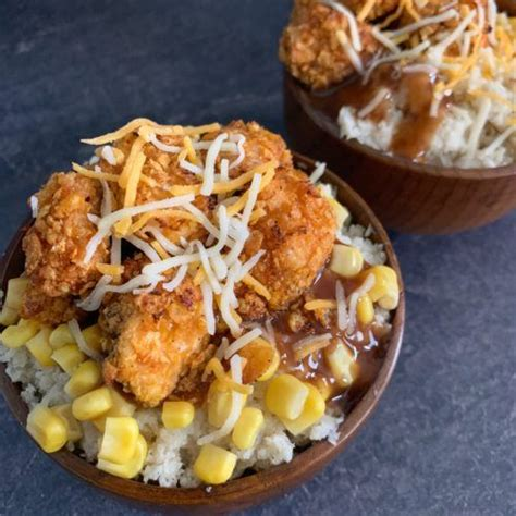 Simple and Healthy KFC Famous Bowl Copycat Recipe (With