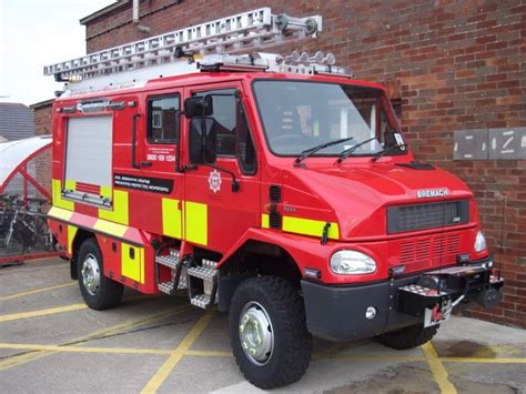 Fire Engines Photos - Bremach L4P North Wales