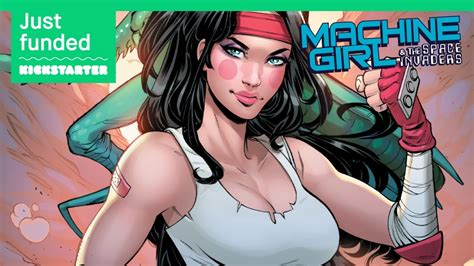 Machine Girl & The Space Invaders #1 exclusive variant
