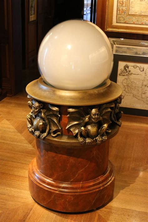 Wicked Witch's iconic gazing ball visits Cornell Library
