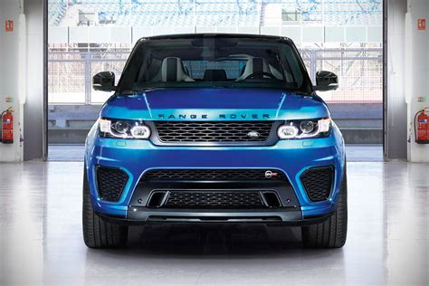 550HP Range Rover Sport SVR Is Officially The Fastest