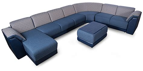 Buy Broadway Sofa Set in Ink Blue Colour by Godrej Interio