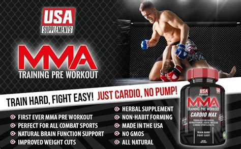 Pre-Workout For MMA Fighters and Cardio Endurance   U