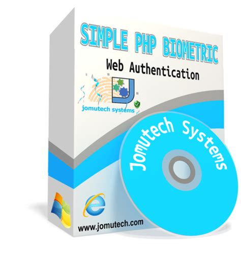 Simple PHP Web Biometric Authentication – Jomutech Systems