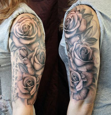 Rose Sleeve Tattoos Designs, Ideas and Meaning | Tattoos