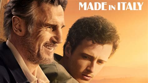 'Made in Italy' – Liam Neeson, and real-life son Michael