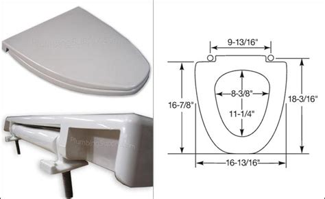 Replacement seats for American Standard Vent-Away toilets