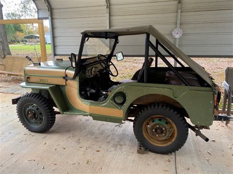 1960 Willys Jeep CJ3B For Sale in Spartanburg, SC - $9,500
