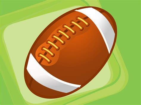 Rugby Ball Vector Art & Graphics | freevector