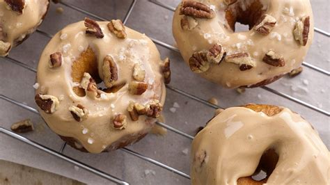 Salted Caramel Doughnuts   Recipe (With images