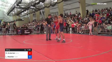 65 kg Round Of 16 - Bryce Andonian, The Wrestling Factory