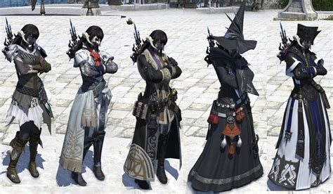 [FFXIV] In Heavensward, everyone is dressed for the
