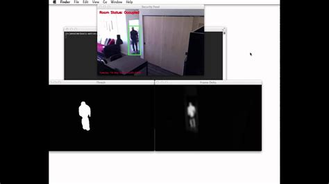 Basic motion and tracking detection using Python and