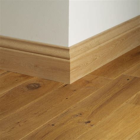Woodpecker Solid Oak Skirting Boards Lacquered or