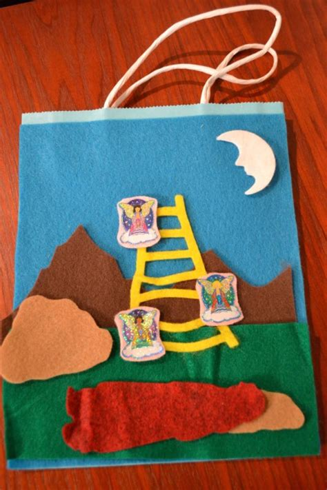 Bible Class Creations: Jacob's Dream Gift Sack Story