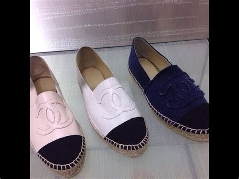 Unboxing Chanel Espadrilles - YouTube